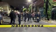 Policías en la colonia San Bartolo Atepehuacan