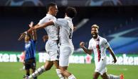 Con dos goles de último minuto, PSG derrota al Atalanta y avanza en Champions