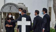 Hijos Peña Nieto, funeral Luis Miranda