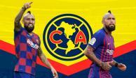 """¡Se viene la bomba! """"Me encantaría jugar en el América"""": Arturo Vidal (VIDEO)"""