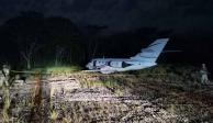 Aeronave asegurada