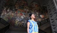 Frida Kahlo por Noemi Zepeda en Palacio Nacional