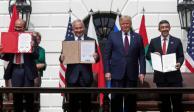 Emiratos y Baréin firman acuerdo de paz con Israel en la Casa Blanca