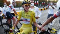 Tadej Pogacar, primer esloveno en ganar el Tour de Francia