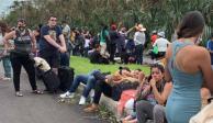 Turistas varados por Delta