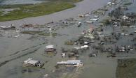 "Paso del huracán ""Laura"" en Lousiana"