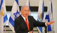 El primer ministro Benjamin Netanyahu