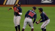 Bravos se lleva el segundo juego de la Serie de Campeonato ante Dodgers