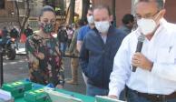 Red hidráulica en Benito Juárez permitirá mejorar el abasto de agua
