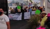 Impiden paso Cuernavaca