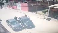 Libra asalto en León, Guanajuato