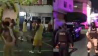 Riña y seguridad Morelos