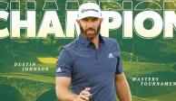 Golf_ Dustin Johnson se corona en el Masters de Augusta