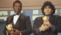 """Diego Armando Maradona: El emotivo mensaje de Pelé tras la muerte del """"D10S"""""""