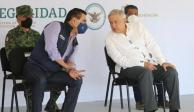 Gobernador Silvano Aureoles y AMLO