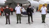 Arriba a México sexto embarque con la mitad de vacunas antiCOVID de Pfizer