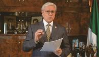 El mensaje en video del gobernador Jaime Bonilla.