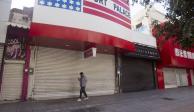 Cierre de negocios en Nuevo León