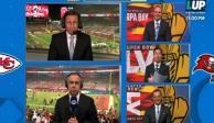 """""""Eres un..."""": Comentaristas de Fox Sports se calientan en plena transmisión del Super Bowl"""