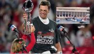 Tom Brady fue elegido como el MVP del Super Bowl LV