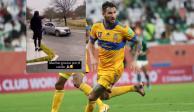 VIDEO: Vecinos le hacen caravana a Gignac por su participación en el Mundial de Clubes