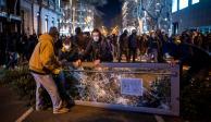 disturbios en españa hasel