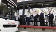Gobernador Alfredo Del Mazo Maza dio el banderazo de salida a unidades del Mexibús de la Línea IV, sistema de transporte masivo