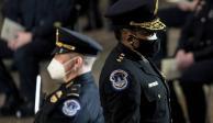Yogananda Pittman, jefa de policía del Capitolio