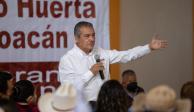 Raúl Morón sigue activo supervisando los comités municipales rumbo a la campaña. Ayer se encontró con morenistas de en Epitacio Huerta.