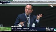 SHCP Arturo Herrera con diputados