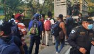 Migrantes siguen pasando por Chiapas