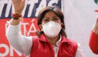 Anabell Ávalos,candidata a la gubernatura por Unidos por Tlaxcala
