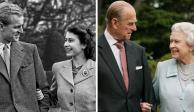 Príncipe Felipe y Reina Isabel II