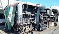 accidente-querétaro-san luis potosí-tráiler-camión-choque