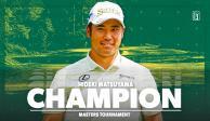 PGA: Hideki Matsuyama, primer japonés en ganar el Masters de Augusta
