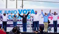 Maru Campos continúa recorriendo el Chihuahua con los auto-mítines
