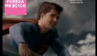 Candidato se disfraza de Superman