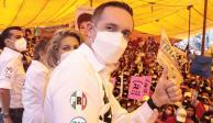 El aspirante destacó que Cuajimalpa es la alcaldía más vigilada de la ciudad, gracias al trabajo que se dio en seguridad.