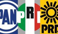 Alianza opositora concentra esfuerzos en cinco estados, PAN, PRI, PRD