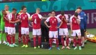 Chistian Eriksen se desvanece en pleno partido de la Eurocopa 2021