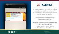 emite recomendaciones a la ciudadanía por posibles fraudes detectados en una red social que promete regalos y dinero