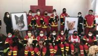 Cruz Roja rinde homenaje a Athos y Tango
