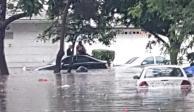 inundación periferico norte