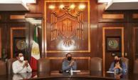 Indira Vizcaíno, gobernadora electa de Colima-universidad