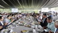 Empresarios de Michoacán comienzan planes de trabajo