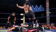 Súper Porky, 135 kilos de lucha y carisma alegría arriba del ring