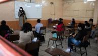 Después de un año de clases virtuales, múltiples planteles en todo México regresaron a clases presenciales este lunes 30 de agosto.