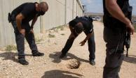 Seis palestinos cavan túnel con cuchara y se fugan de una cárcel de máxima seguridad en Israel
