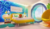 Un usuario de TikTok expuso el costo de una noche en la suite de Bob Esponja del hotel Nickelodeon en la Riviera Maya