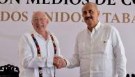 Ken Salazar se reúne con el gobernador de Tabasco